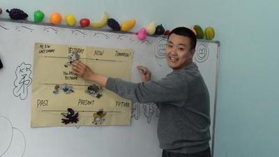 哈尔滨新东方泡泡少儿英语首届教师教具制作大赛